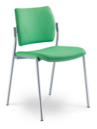 Jednací a konferenční židle DREAM 111-N4, konstrukce chromovaná