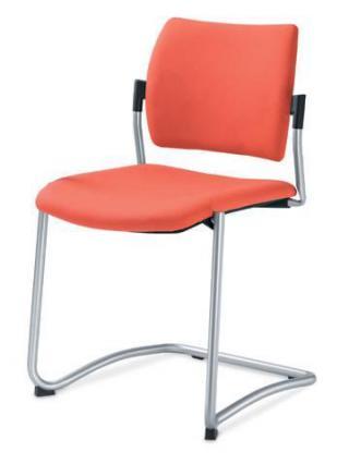 Jednací a konferenční židle DREAM 130-N4, konstrukce chromovaná
