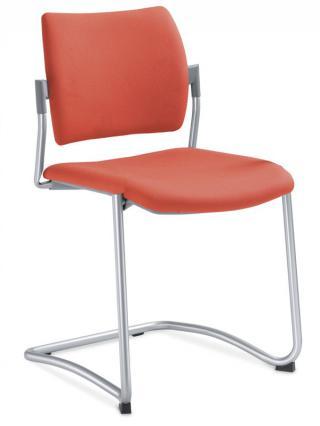 Jednací a konferenční židle DREAM 131-N4, konstrukce chromovaná