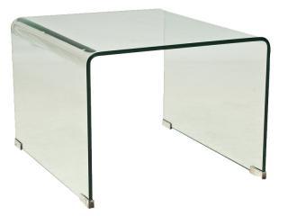 Konferenční stolek, PRIMA B, světlý, 49x58cm