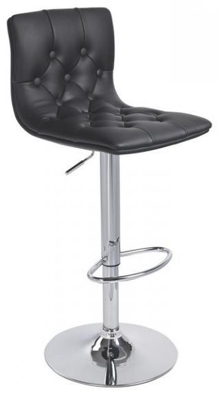 Barová židle, KROKUS C-10A, barva černá