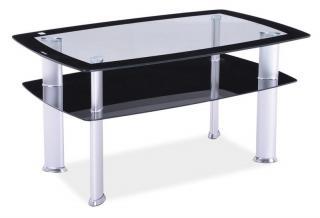 Konferenční stolek, DARIA C, 65x110cm
