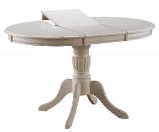 Jídelní rozkládací stůl, OLIVA Bianco