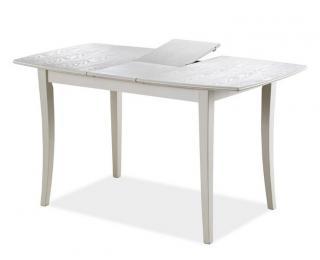 Jídelní rozkládací stůl, Martina II Bianco
