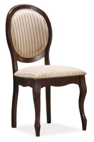 Jídelní čalouněná židle, FN-SC, barva černý ořech