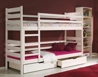 Dětská postel DAVID poschoďová