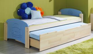 Dětská postel JAN 2 vysouvací 90x200cm