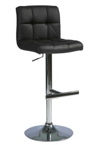 Barová židle KROKUS C-105, barva černá
