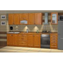 Kuchyně PREMIUM de LUX 260 olše