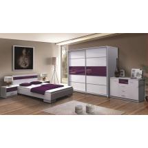 Ložnice DUBLIN fialová