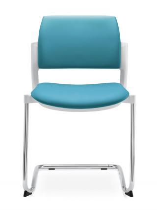 Jednací a konferenční židle DREAM+ 104-WH-N4 konstrukce chromovaná