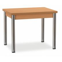 Stůl KNIHA,  nohy chrom, rozkládací, 90/158x68cm