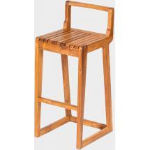 Teaková barová židle LUCA