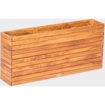 Teakový zahradní truhlík FIORI, 20x100x45cm