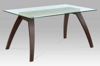 Jídelní stůl se skleněnou deskou TONALE  (BT-6802 BWAL)
