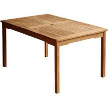 Zahradní teakový stůl WINNER 130, 130x90 cm