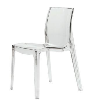 Plastová židle FEMME FATALE