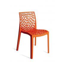 Plastová židle GRUVYER (polypropylen)