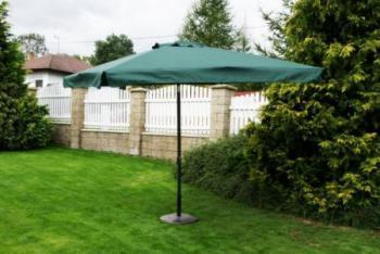 Zahradní slunečník kovový 8020, 270x270cm ROJAPLAST 600