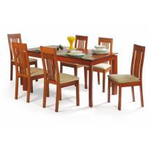 jídelní stůl rozkl.150+70x90cm,barva třešeň