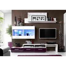 Obývací stěna BALI fialová