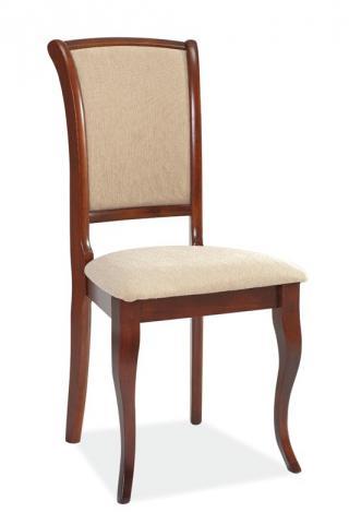 Jídelní čalouněná židle ALICANTO, barva antická třešeň