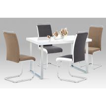 Jídelní stůl s lakovanou deskou BEDUIN (A770 WT)