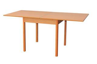 Rozkládací jídelní stůl LUDVÍK S104, 80/160x80cm