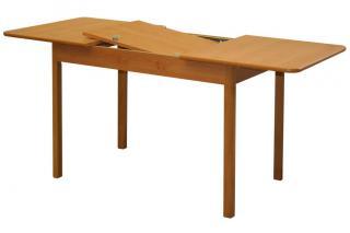 Rozkládací jídelní stůl TEODOR  S05, 110/160x70cm