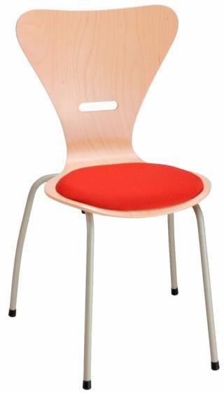 Jídelní a kuchyňská židle KLAUDIE 145.B - čalouněná