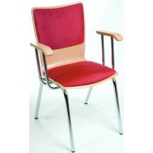 Jídelní a kuchyňská židle SIMONA H. HA - dřevěná