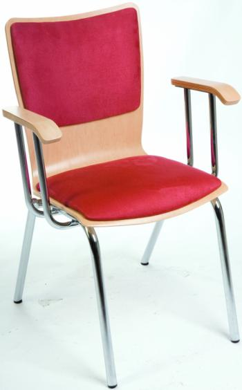 Jídelní a kuchyňská židle SIMONA H. HA - dřevěná Kovobel 243 H.HA
