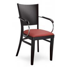 Židle ALBERT 323368, koženka