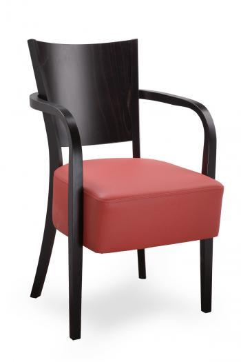 Židle ALBERT 323541, kůže L.A.Bernkop-KORYNA 323541