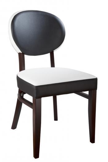 Židle BARBARA 313285, kůže L.A.Bernkop-KORYNA 313285