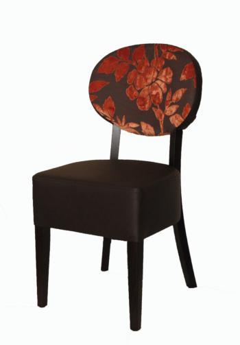 Židle BARBARA 313275, kůže L.A.Bernkop-KORYNA 313275