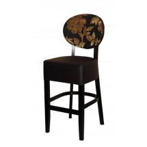 Barová židle BARBARA 363275, koženka