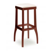 Židle barová DANIEL 373050, kůže