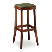 Židle barová DANIEL 373048, kůže