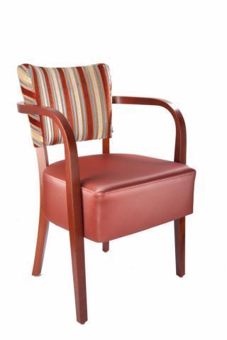 Židle JOSEF 323714, koženka