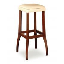 Židle barová DANIEL 373051, kůže