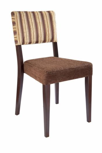 Židle EMA 313183, kůže L.A.Bernkop-KORYNA 313183