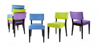 Židle EMA 313181, látka L.A.Bernkop-KORYNA 313181
