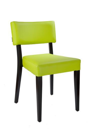 Židle EMA 313181, kůže L.A.Bernkop-KORYNA 313181