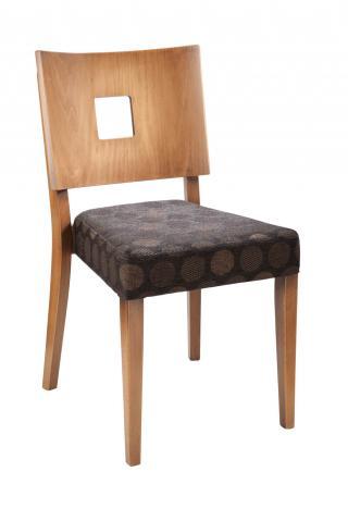 Židle EMA 313185, koženka