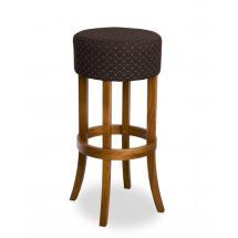 Židle barová ERNIE 373076, kůže