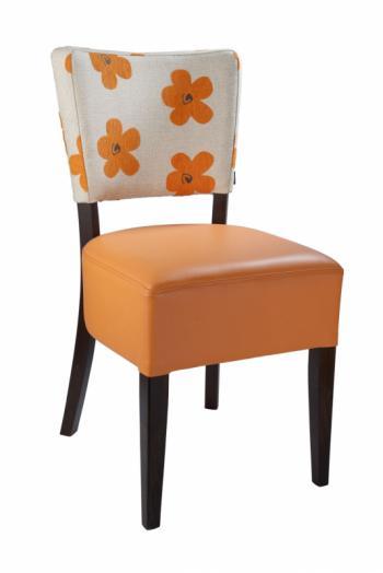 Židle ISABELA 313761, kůže L.A.Bernkop-KORYNA 313761