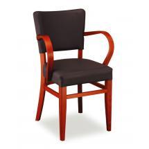 Židle ISABELA 323771, koženka