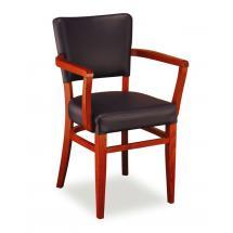 Židle ISABELA 323791, koženka