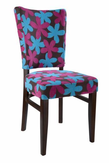 Židle ISABELA 313773, kůže L.A.Bernkop-KORYNA 313773
